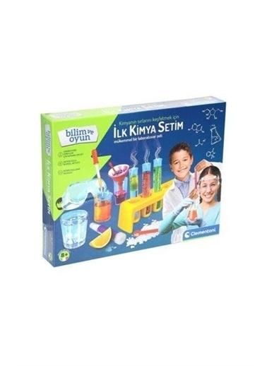 Clementoni  Deney Seti - Ilk Kimya Setim 64228 Renkli